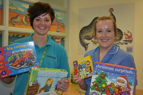 Orchard Toys Hospital Donation
